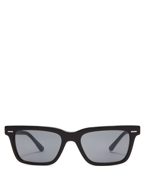 a8571dc63c The Row X Oliver Peoples Rectangular Acetate Sunglasses In Black ...