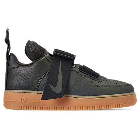low priced 24179 ba07c Nike Men s Air Force 1 Utility Casual Shoes, Green