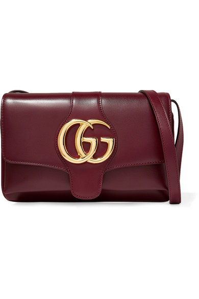 c5227ebe40e Gucci Small Arli Convertible Shoulder Bag In Burgundy