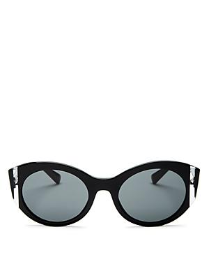 ae0981f3cb9 Valentino 53Mm Cat Eye Sunglasses - Black Crystal Solid