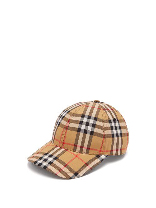 83e78dc1fd6 Burberry Vintage-Check Cotton Baseball Cap In Neutrals