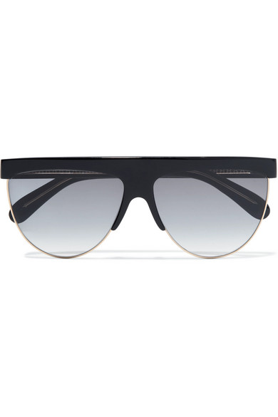 95d8324882228 Givenchy 62Mm Oversize Flat Top Sunglasses - Black  Gold