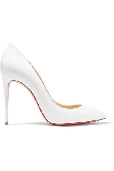 save off de3ec 8dd01 Pigalle Follies 100 Patent-Leather Pumps in White