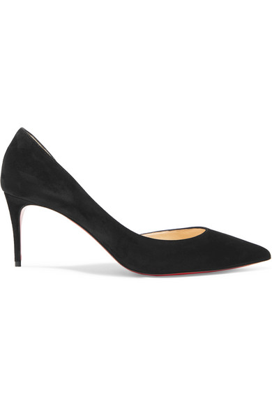 f880f4549231 Christian Louboutin Iriza Half-D Orsay 70Mm Red Sole Pump