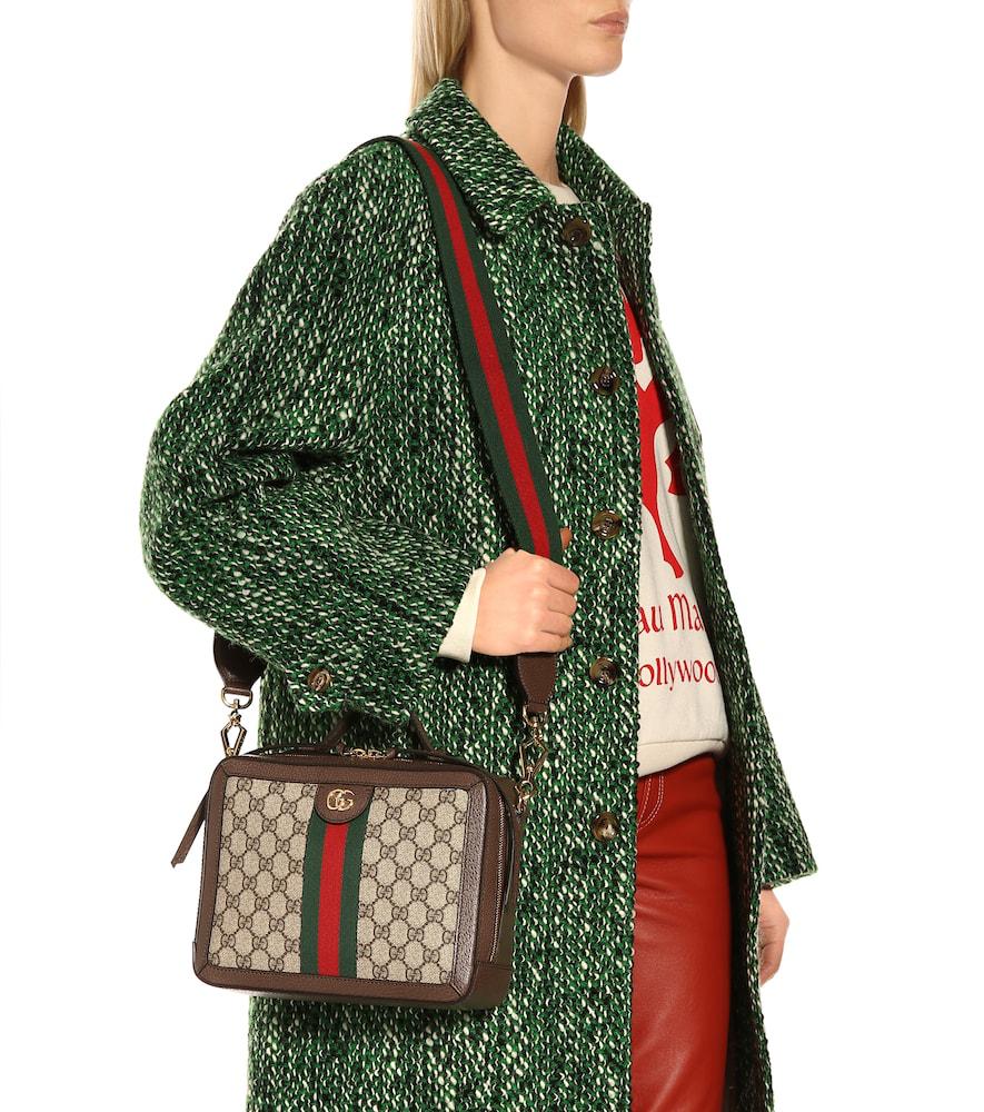 62b0405066b47 Gucci Small Ophidia Gg Supreme Canvas Shoulder Bag - Beige In 8745 Gg Beige