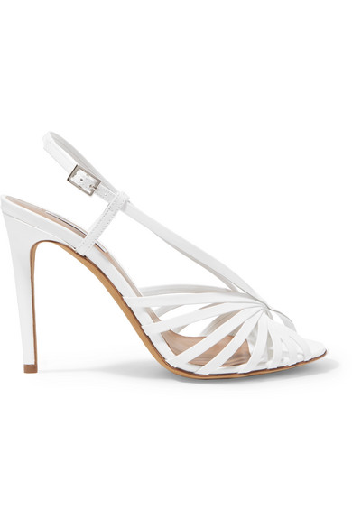 e80d815227 Tabitha Simmons Women. TABITHA SIMMONS. Women's Jazz Strappy Slingback High-Heel  Sandals in White