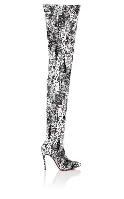 45e717d450d Christian Louboutin Gravitissima Over-The-Knee Boots In Black