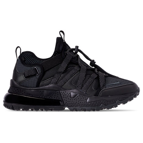 e2a63ab3089d5d Nike Air Max 270 Bowfin Ripstop, Mesh And Faux Leather Sneakers - Black In  005Blkanthr