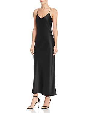 da5e61c1684 Anine Bing Rosemary Silk Slip Dress In Black
