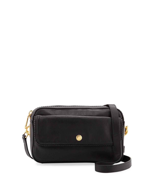 70473129257 Cole Haan Benson Leather Camera Bag In Black | ModeSens