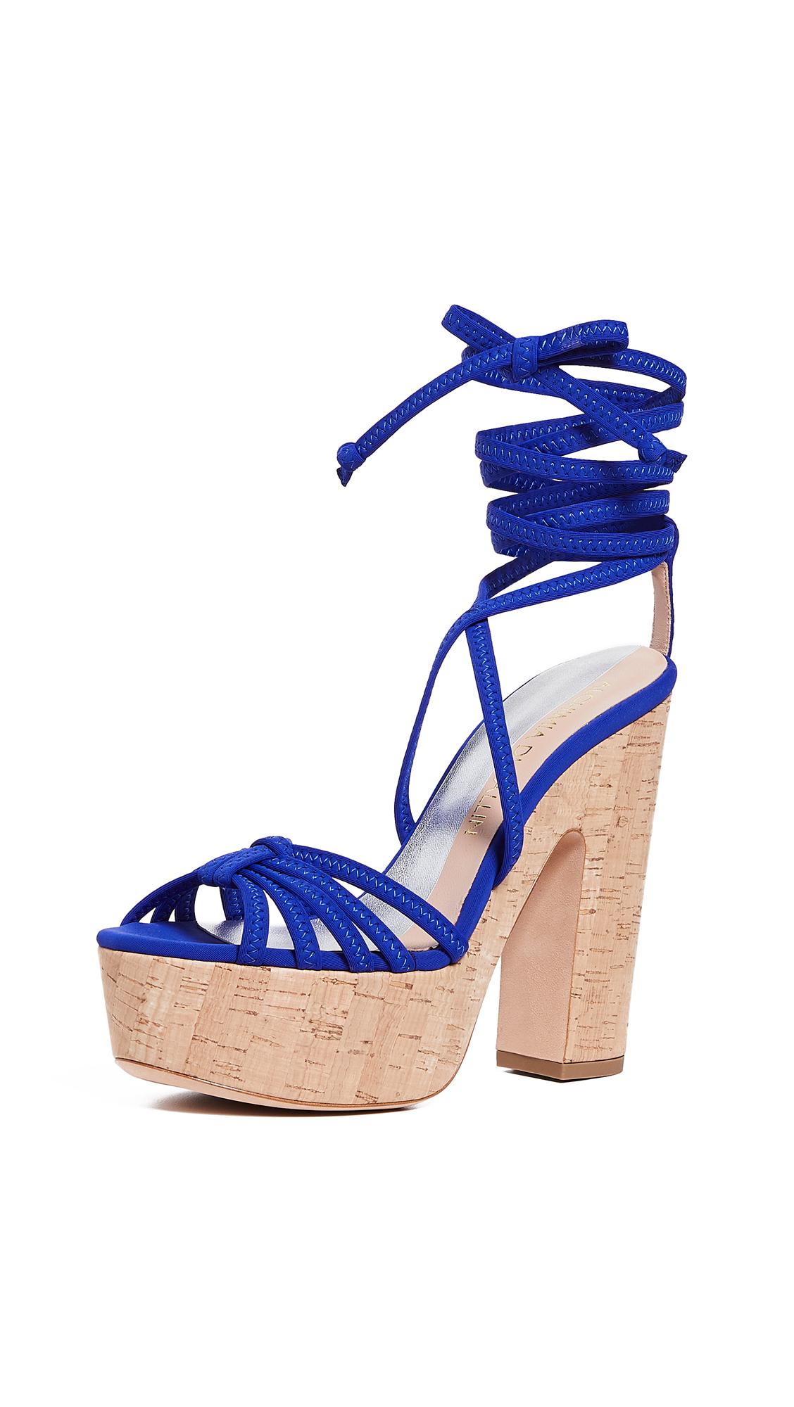 699363fc87e Alchimia Di Ballin Bikini Platform Sandals In Cobalt