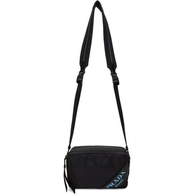 1b45d94ce012 Prada Black Mirage Camera Bag In F0002 Black | ModeSens