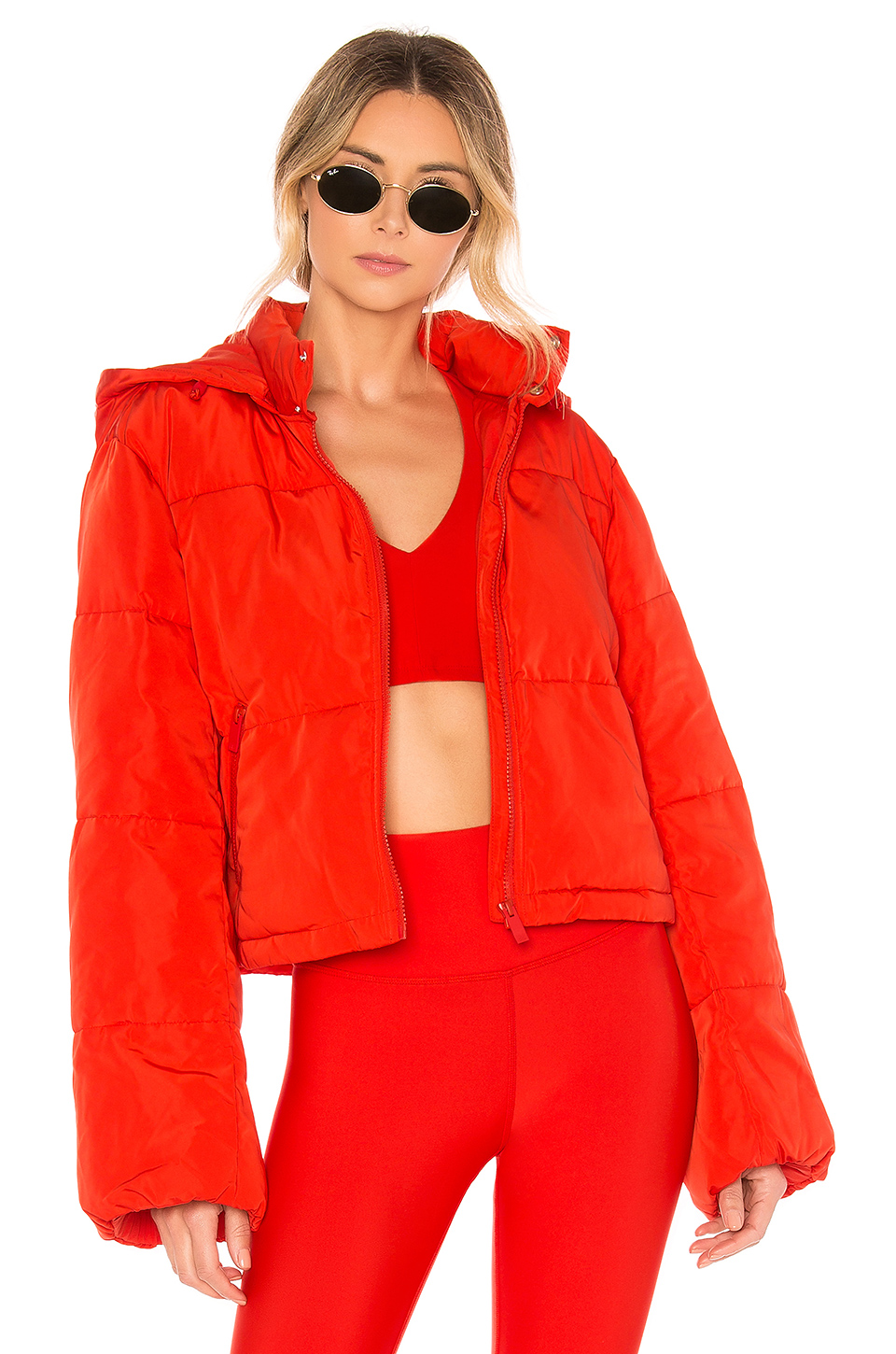9d9062de00 Alo Yoga Alo Introspective Quilted Jacket In Red. | ModeSens