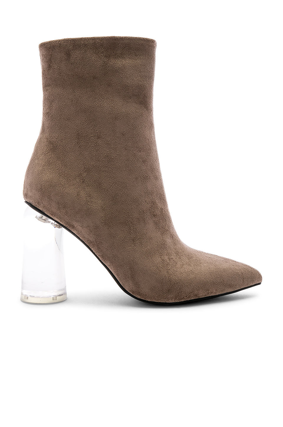 1972e51e63 Jeffrey Campbell Lustful Bootie In Taupe   ModeSens