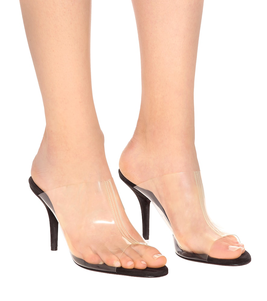 a92976efade Transparent Mules (Season 8) in Grey