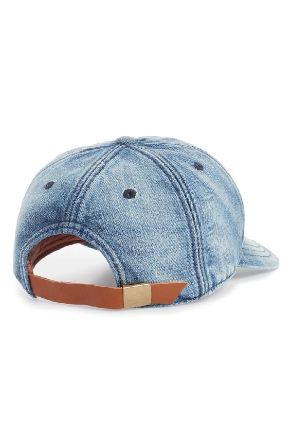 c01b3d7f Madewell Faded Denim Baseball Cap - Blue In Naval Wash | ModeSens