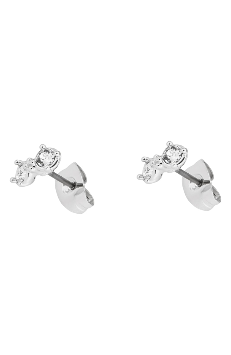 f5166081d368f Eliora Princess Sparkle Stud Earrings in Silver/ Crystal