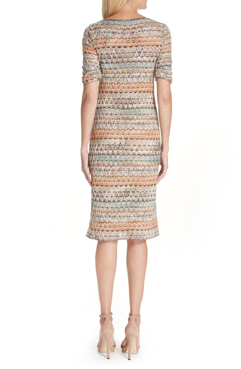 848105904f3 Missoni Open Knit Sweater Dress In Sm696