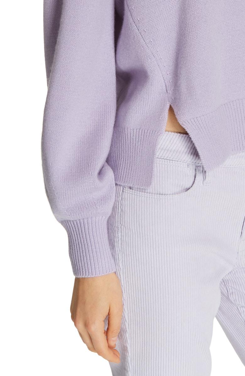 b3c61d8fe0df Frame Swing Wool   Cashmere Sweater In Purple