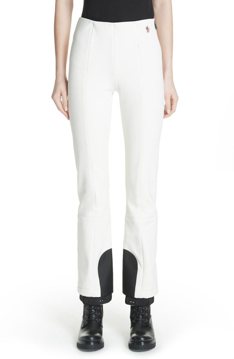 f5beb93ff Skinny Stretch Ski Pants in White