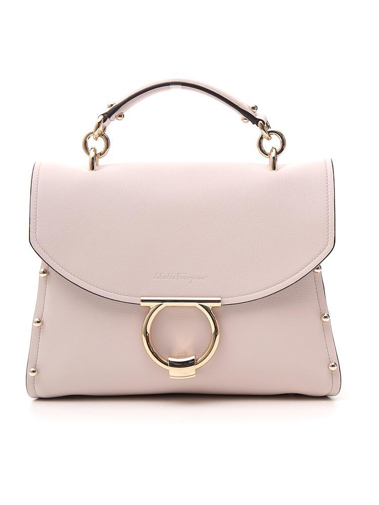 f67785e085b4 Salvatore Ferragamo Margot Tote Bag In Pink. CETTIRE