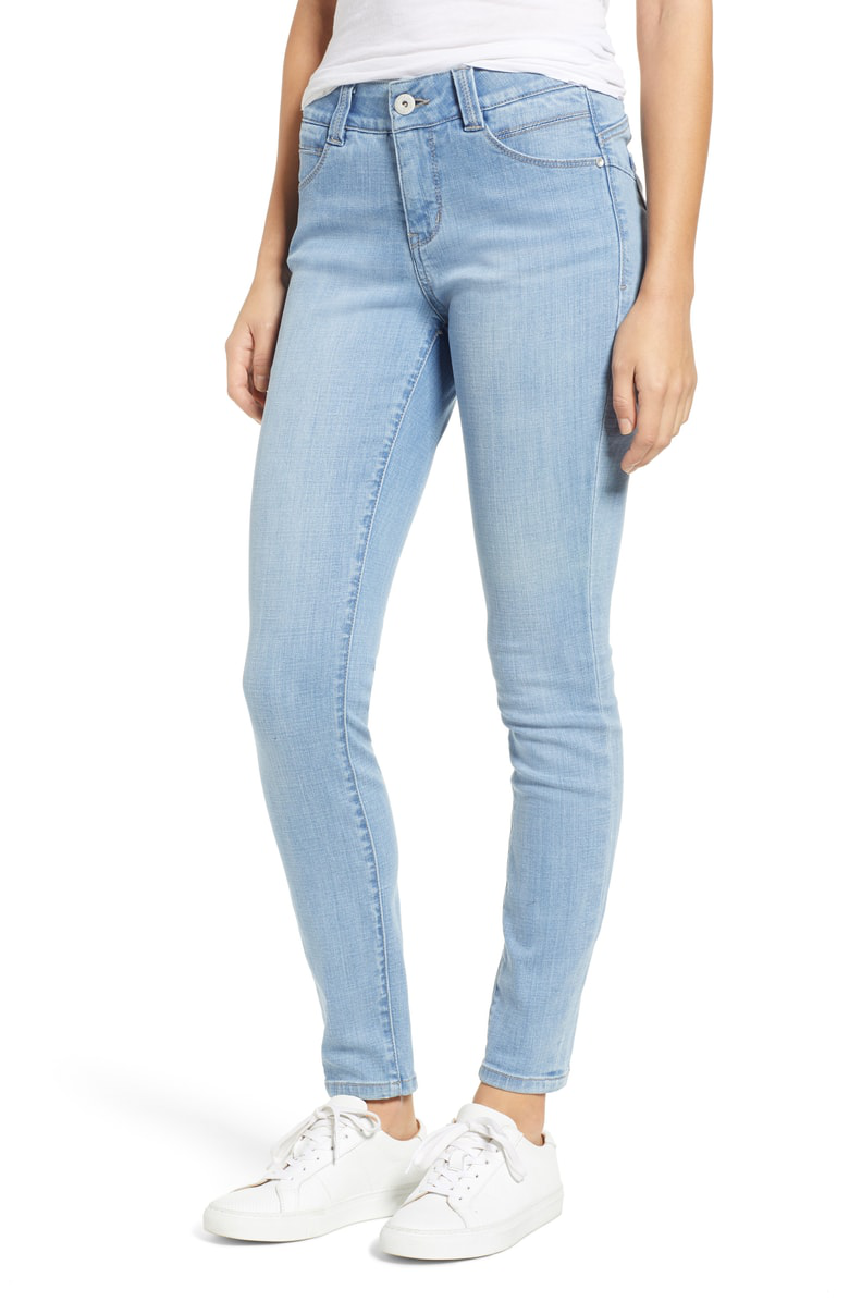 f5daaf34 Jag Jeans Cecilia Skinny Jeans In Island Blue | ModeSens