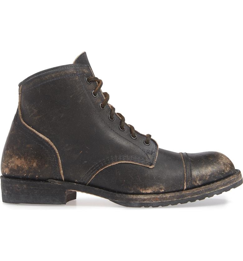 6606fba998a Logan Cap Toe Boot in Black