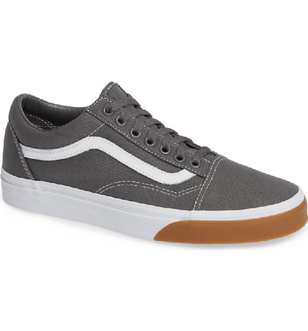 6d4443ddc6 Vans Gum Old Skool Sneaker In Pewter  True White