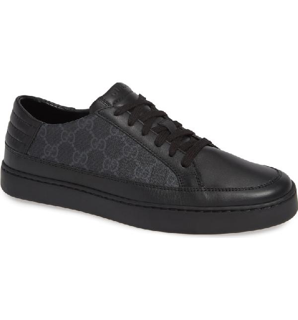 8f5b56afd1cf Gucci Men s Common Gg Supreme Low-Top Sneakers