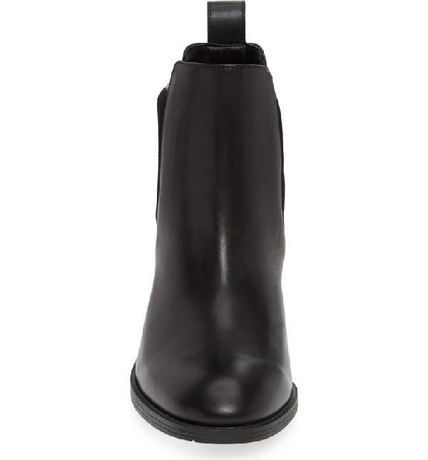 93da79fc5c2 Calvin Klein Perron Chelsea Bootie In Black  Black