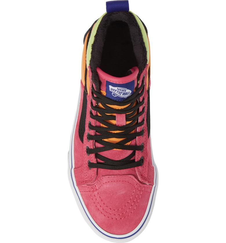 83c89805bcec Vans Sk8-Hi 46 Mte Dx Sneaker In Pink Yarrow  Tangerine  Black ...