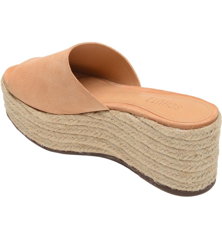 ebe83314728ff Women's Thalia Suede Espadrille Platform Sandals in Honey Beige