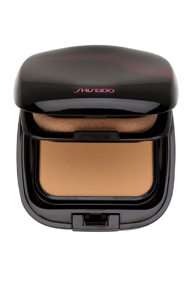 Shiseido The Makeup Perfect Smoothing Compact Foundation Spf 15 Refill In O40 Natural Fair Ochre
