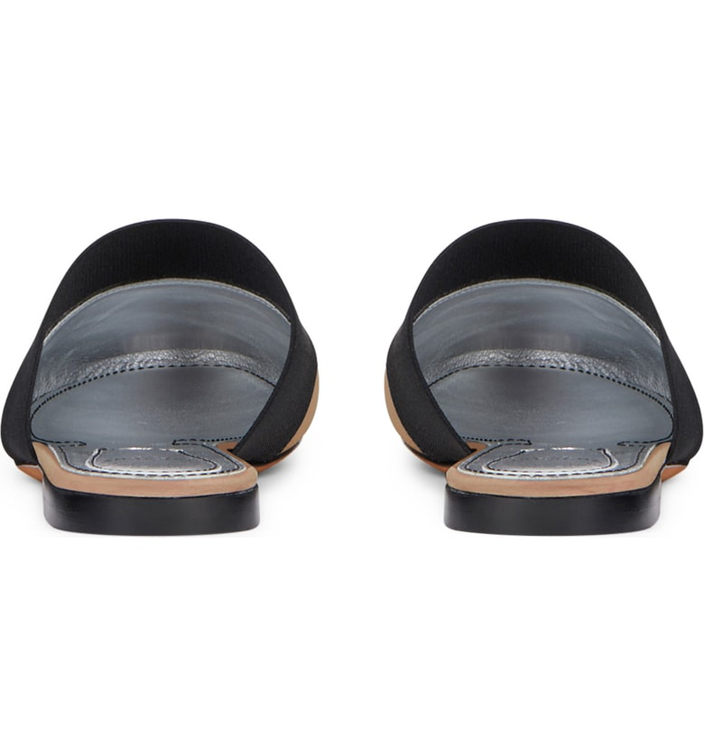 732fd46cba4c Givenchy Bedford Logo-Print Elastic And Leather Slippers In Black ...