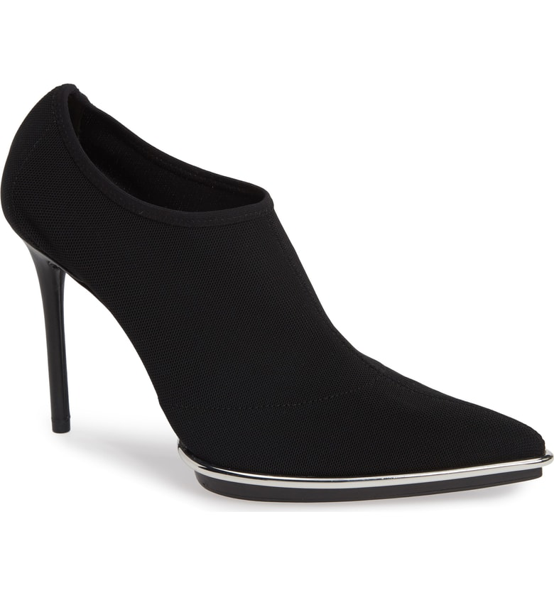 Alexander Wang Cara Power Mesh Stiletto Pumps In Black