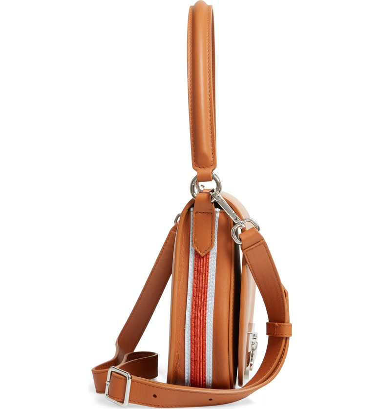 afbfaa2089 Calvin Klein 205W39Nyc Bonnie Small Leather Shoulder Bag - Brown ...