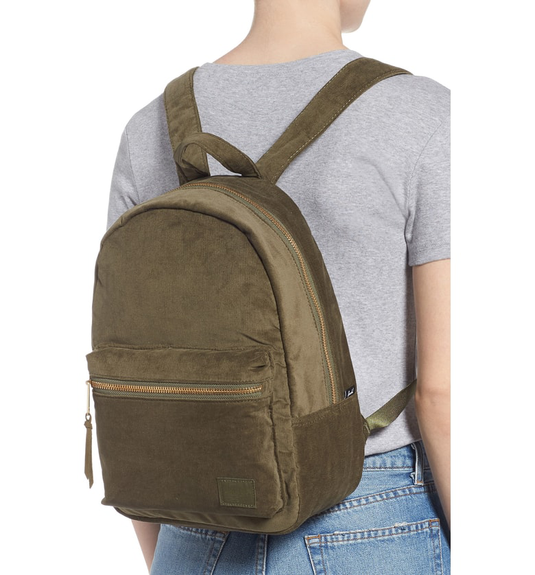 443d4494360 Herschel Supply Co. X-Small Grove Corduroy Backpack - Green In Ivy ...