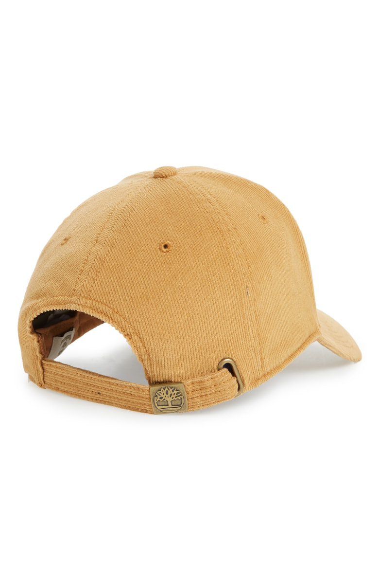 71bcee850 Logo Embroidered Corduroy Ball Cap in Wheat