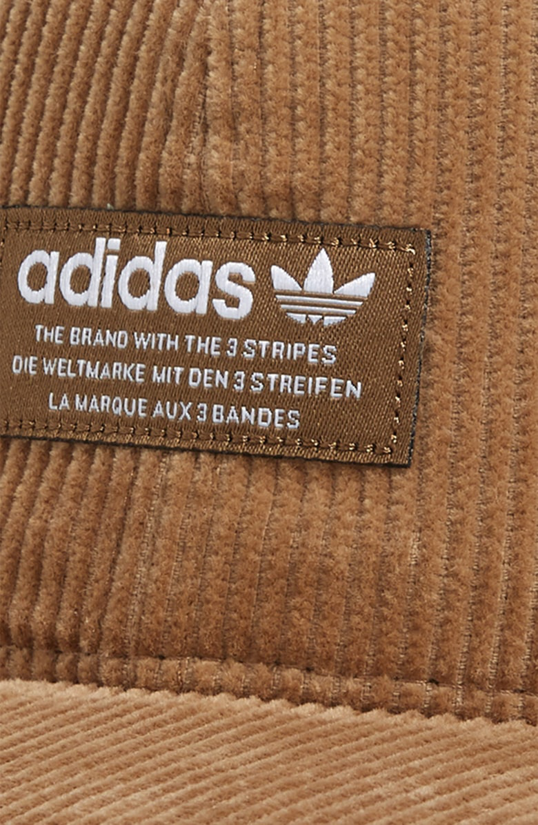 5fe460ce064 Adidas Originals Relaxed Corduroy Cap - Beige In Raw Desert  White ...