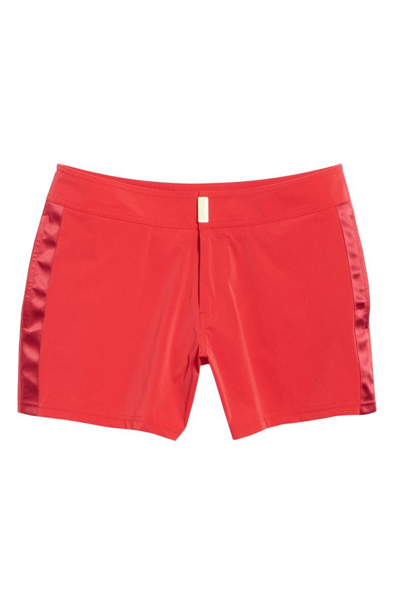 c33e83573c Men Swimwear - Men Flat Belt Stretch Swimtrunks Tuxedo - Swimwear -  Midnight in Red