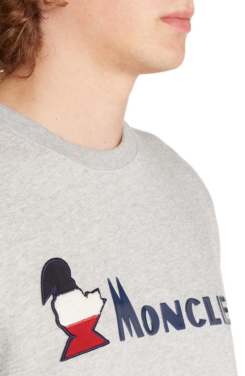 2b5064ffa Grey Logo-Appliquéd Cotton Sweatshirt