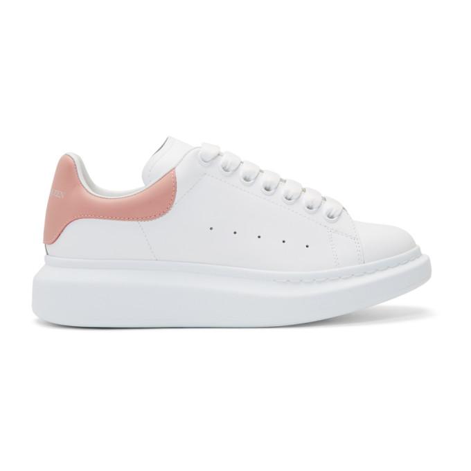 0e3f6d1f145c81 Alexander Mcqueen Oversized Sneaker In White