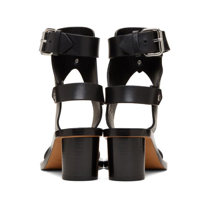 60e9fb4ed4 Isabel Marant Jaeryn Studded Leather Sandals In 01Bk Black | ModeSens