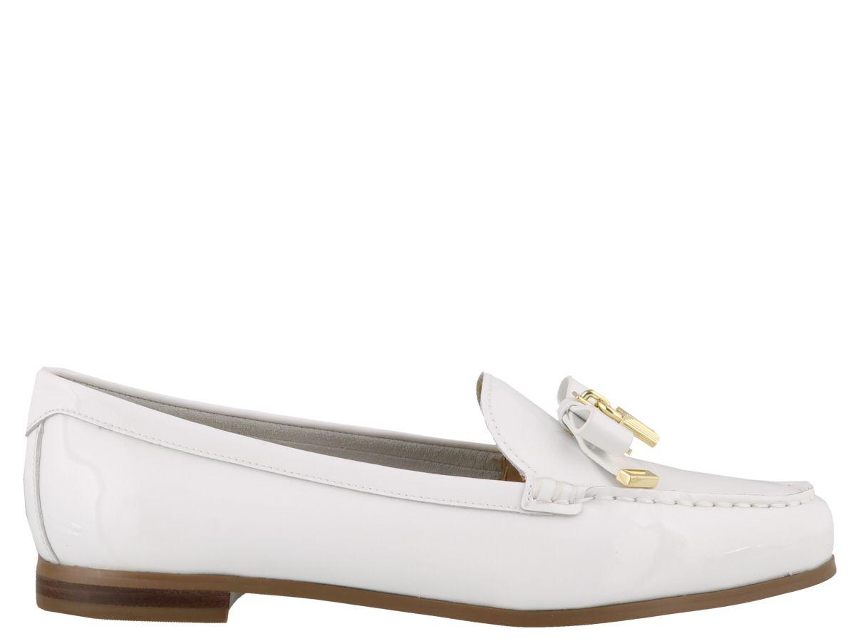 455e3fd4b01 Michael Kors Alice Loafer In Optic White