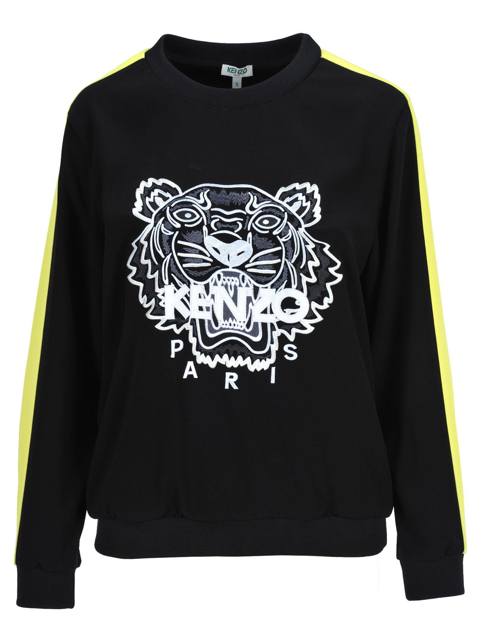 da1f07ee Kenzo Tiger Embroidered Sweatshirt In Black   ModeSens