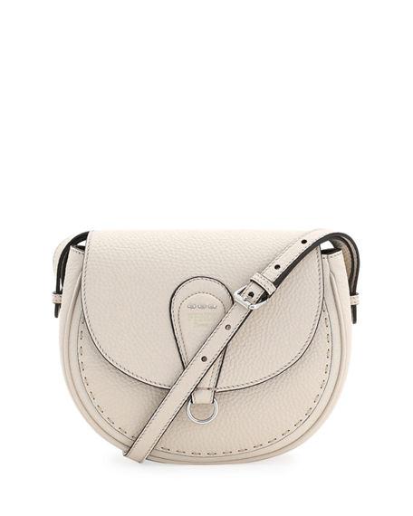 d41fa072e7 Fendi Selleria Messenger Shoulder Bag In Off White