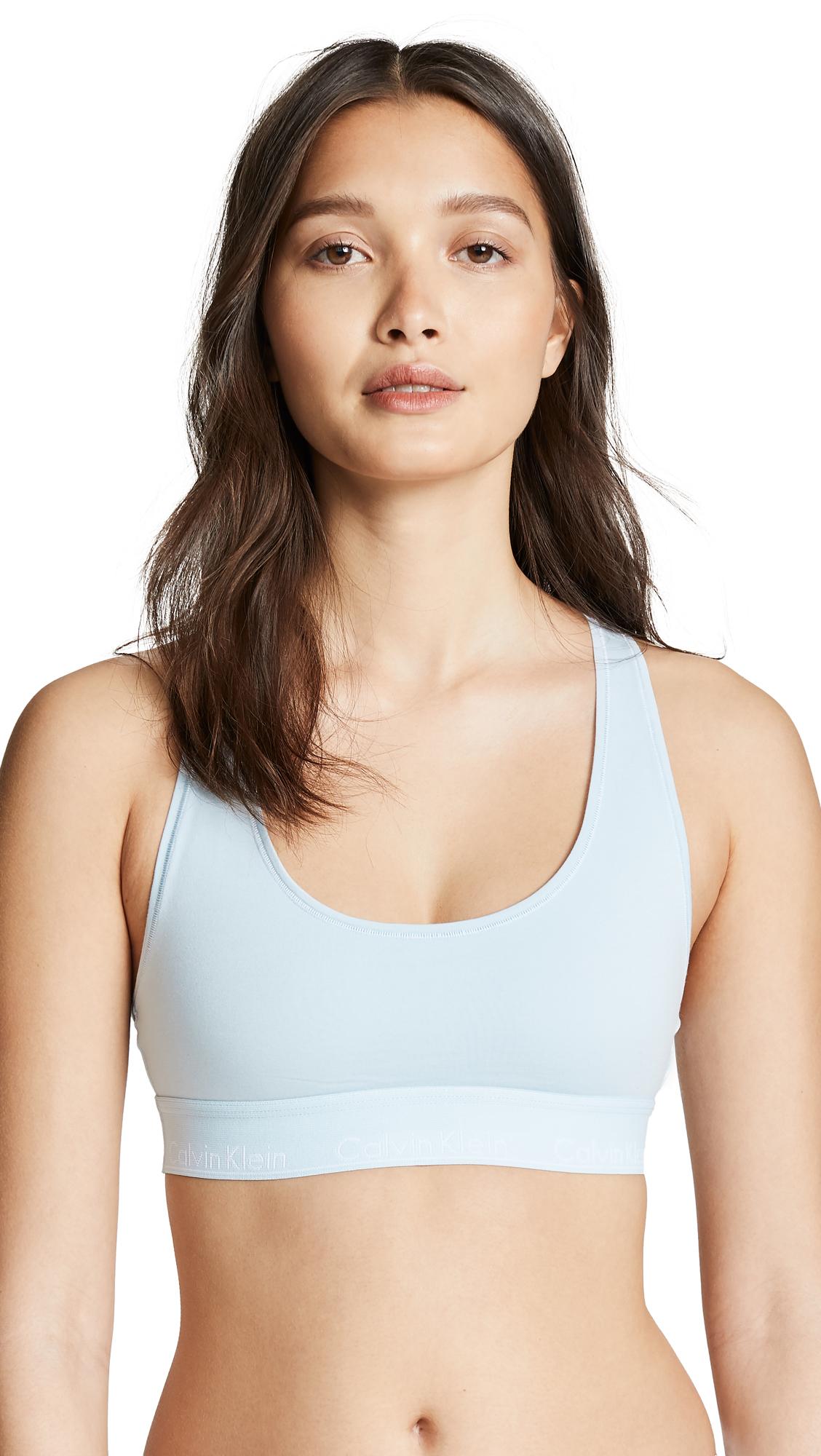 9a794f77235 Calvin Klein Underwear Modern Cotton Unlined Bralette In Vent
