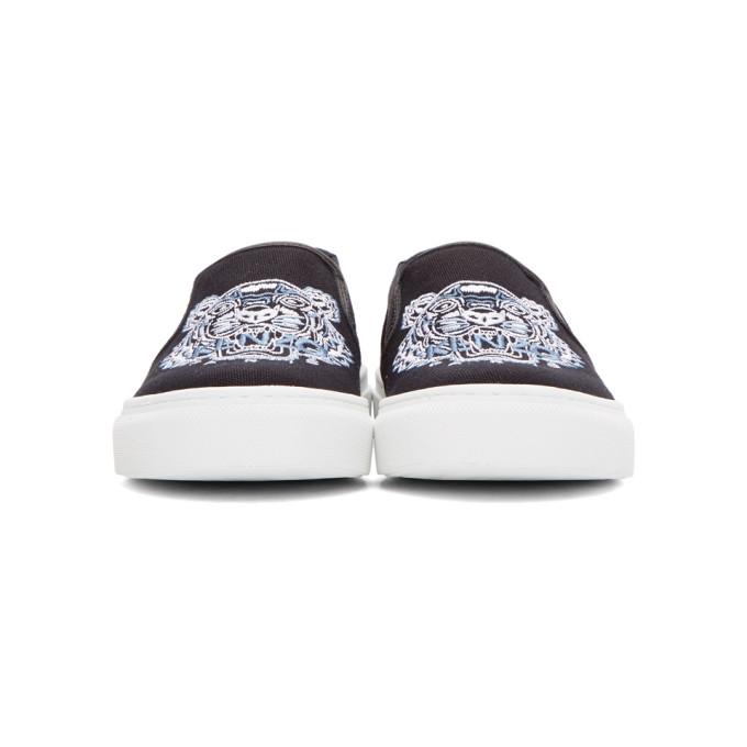 fe88b4af Kenzo K-Skate Slip-Ons In 99 - Black | ModeSens