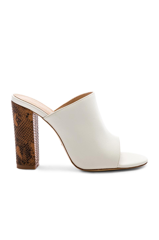 fe8bd9159b Raye Boa Heel In White. | ModeSens