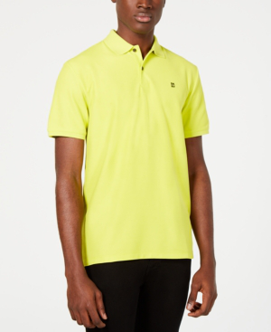 270fa4ef Dkny Men's Solid Polo Shirt In Sulphur Spring   ModeSens